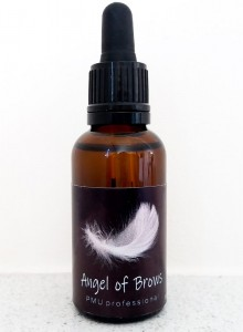Angel of Brows - znieczulenie brwi na przerwany naskórek - topical anesthetic for broken epidermis